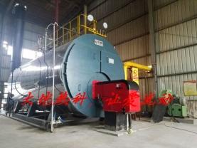 湖北三和管桩15t蒸汽锅炉
