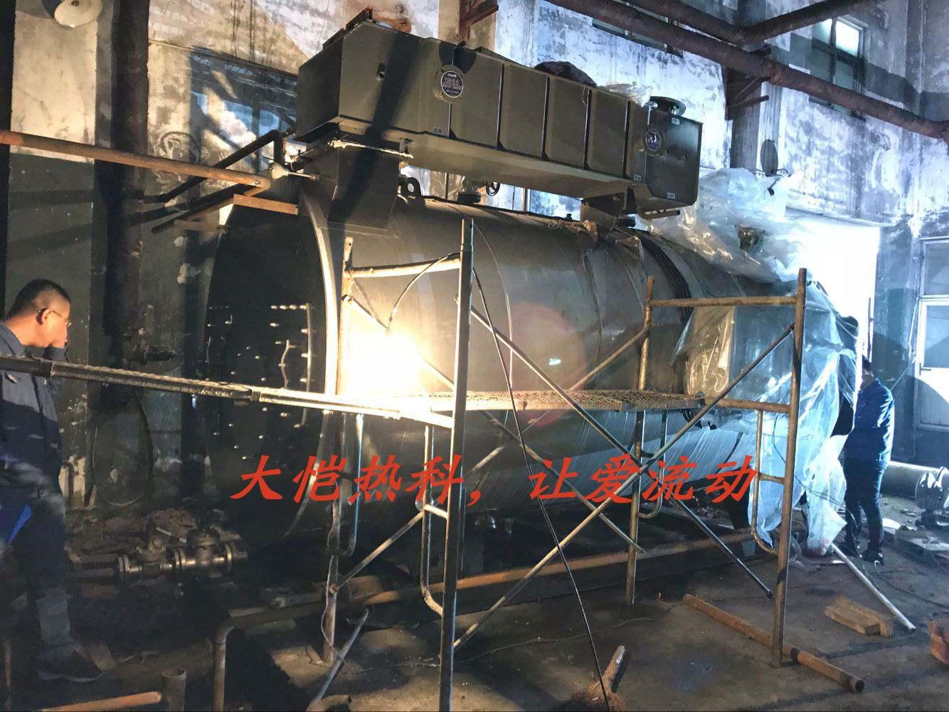 锅炉房施工